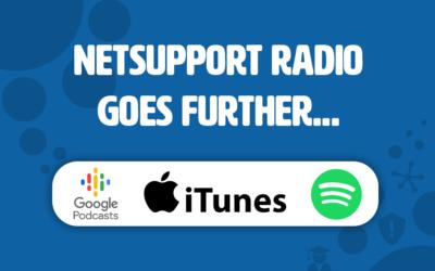 NetSupport Radio goes further…