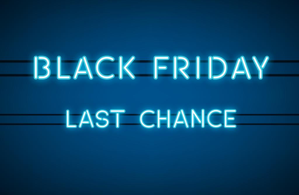 Black Friday – last chance!