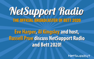 Get your voice heard with NetSupport Radio, official broadcaster of Bett 2020!