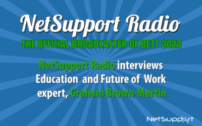 Education and future of work expert, Graham Brown-Martin, chats to Russell Prue on NetSupport Radio!