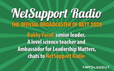Bukky Yusuf joins Al Kingsley on NetSupport Radio!