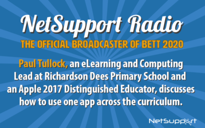 Paul Tullock confirmed as a speaker on the NetSupport stand at Bett 2020!