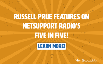 Russell Prue is interviewed for NetSupport Radio!