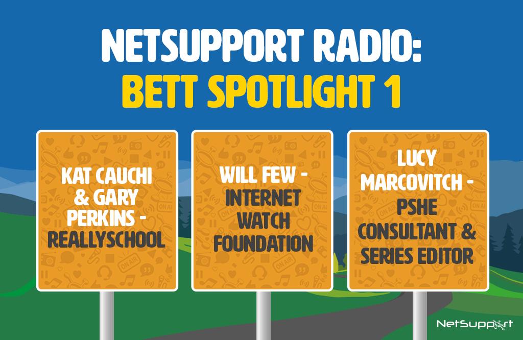Spotlight: NetSupport Radio at Bett 2020 – 1