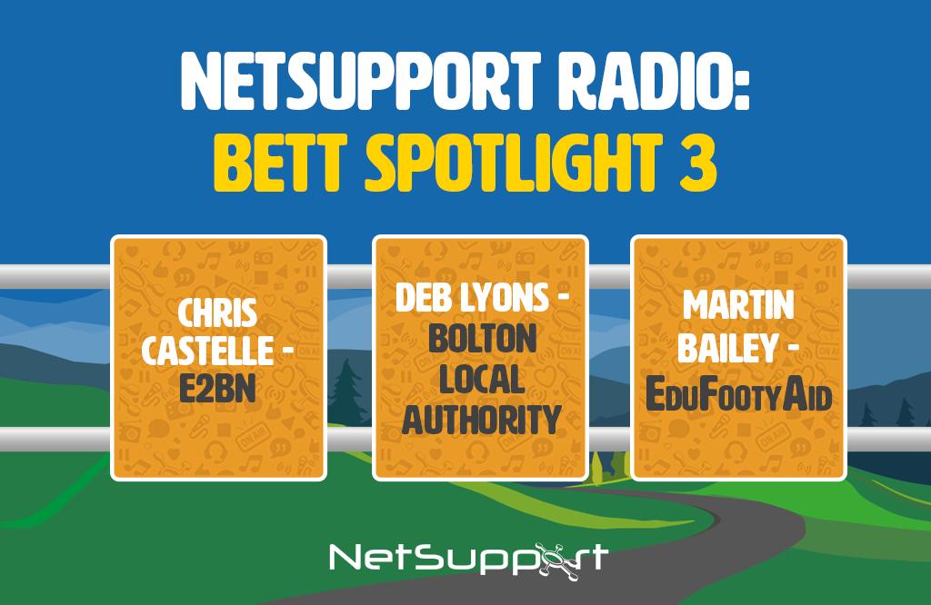 Spotlight: NetSupport Radio at Bett 2020 – 3