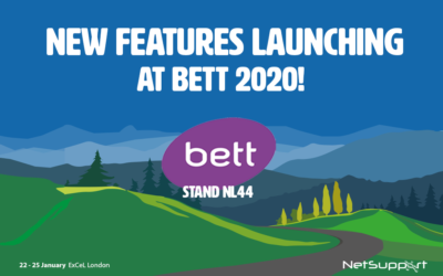 New features launching at BETT 2020!
