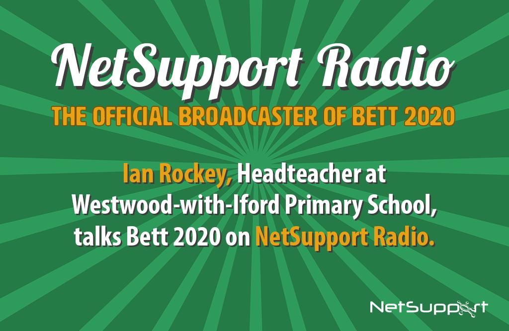 Ian Rockey is presenting in the NetSupport Speaker Zone!