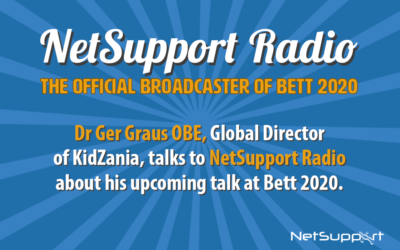 Russell Prue is joined by Dr Ger Graus on NetSupport Radio!
