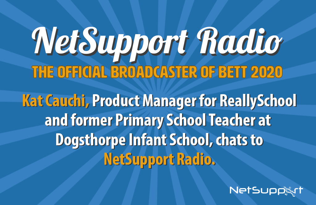 Kat Cauchi revealed as a speaker on the NetSupport stage!