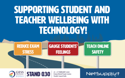 Supporting student and teacher wellbeing with technology at GESS 2020!