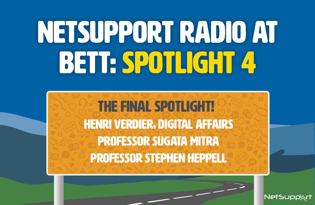 Spotlight: NetSupport Radio at Bett 2020 – 4
