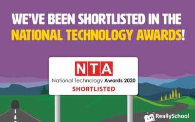 NetSupport's ReallySchool has been shortlisted in the National Technology Awards!