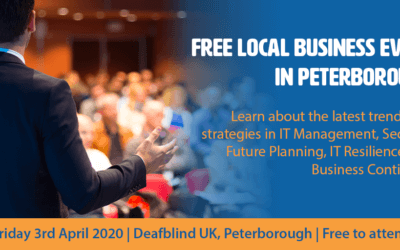 Free local business event in Peterborough