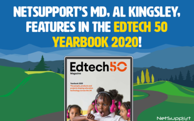 NetSupport's MD, Al Kingsley, features in the 2020 Edtech 50!