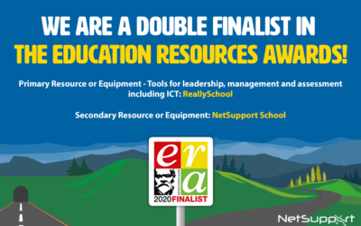 NetSupport solutions are chosen as finalists in the Education Resources Awards 2020!