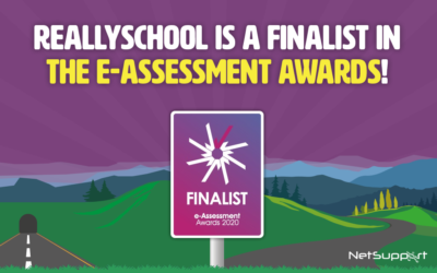 ReallySchool has been chosen as a finalist in the e-Assessment Awards 2020!