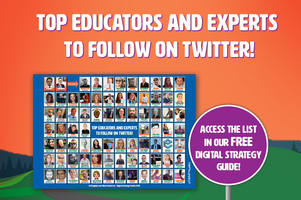 Top educators and experts to follow on Twitter