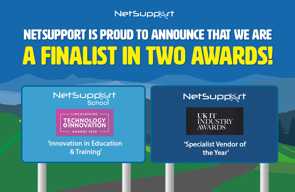 NetSupport is a finalist in two awards!