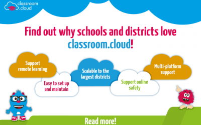 Find out why schools and districts love classroom.cloud!