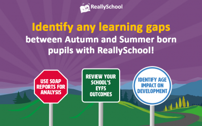 Identify learning gaps between Autumn and Summer born pupils with ReallySchool!