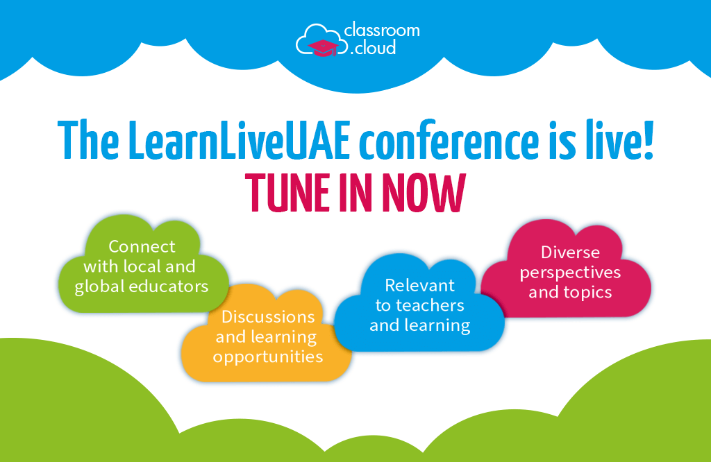 LearnLiveUAE, a NetSupport sponsored event, is today!
