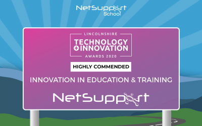 NetSupport School has been awarded as 'Highly Commended'!