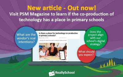 ReallySchool features in PSM Magazine!