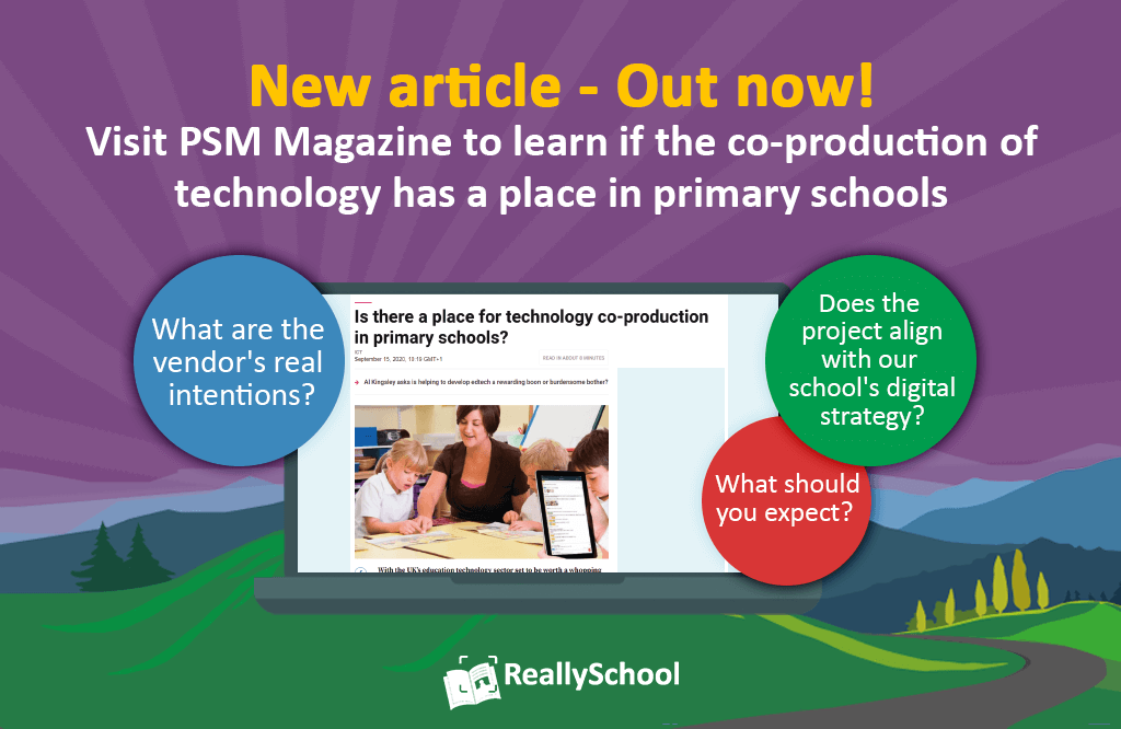 ReallySchool features in PSM Magazine!