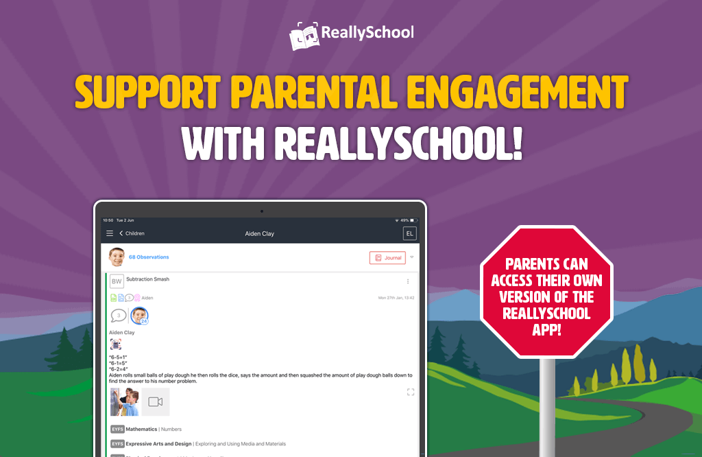 Support parental engagement with ReallySchool!