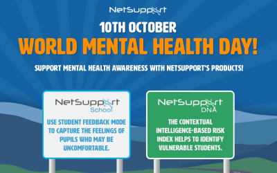 Support World Mental Health Day with NetSupport's products!