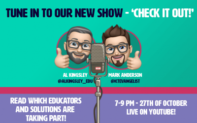 New 'Check it out!' show with Mark Anderson and Al Kingsley!