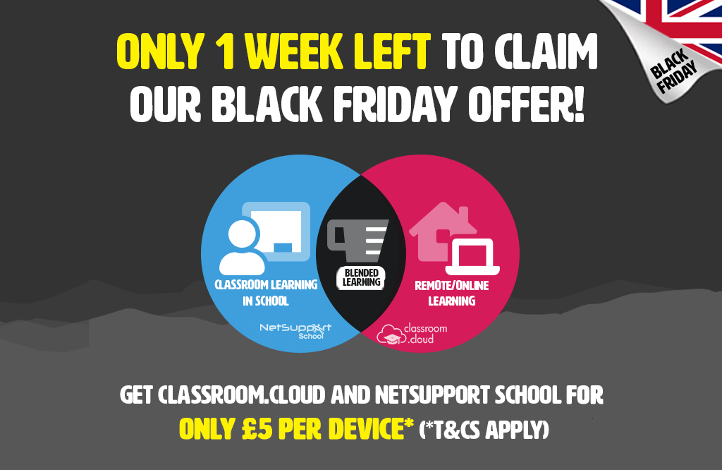There is only ONE WEEK left to claim our Black Friday offer!