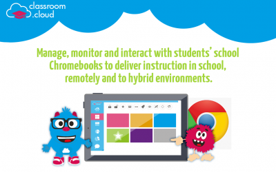 classroom.cloud now enables better management of students' Chromebooks