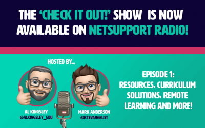 The 'Check it out!' Show is now available on NetSupport Radio!