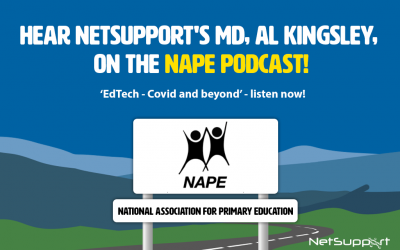Hear NetSupport's MD, Al Kingsley, on the NAPE Podcast!