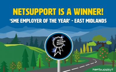 NetSupport is a Regional Winner in the National Apprenticeship Awards!