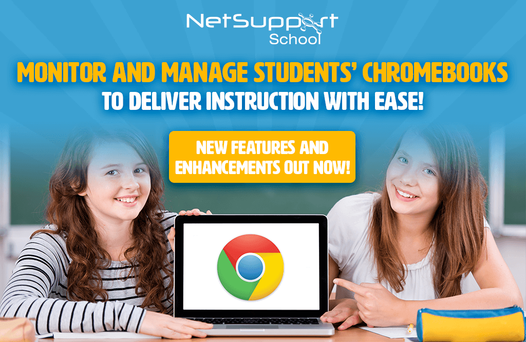 New features available for students' Chromebooks in NetSupport School