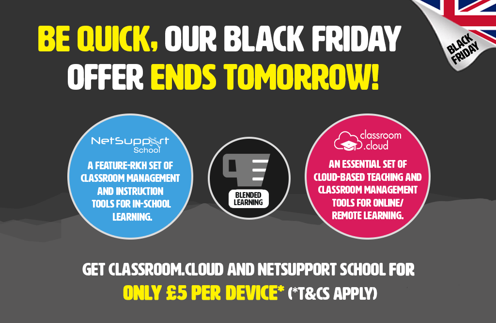 Our Black Friday offer ends tomorrow!