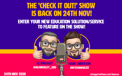 The 'Check it out!' show is back by popular demand!