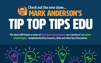 Blog: Introducing #TipTopTipsEdu…