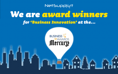 We are 'Business Innovation' award winners!