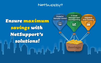 Ensure maximum savings with NetSupport's solutions!