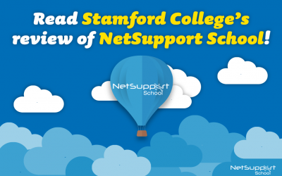 Read Stamford College's review of NetSupport School!