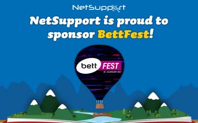 NetSupport is proud to sponsor BettFest!