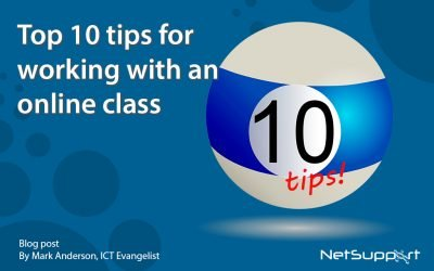 Blog: Top 10 tips for working with an online class