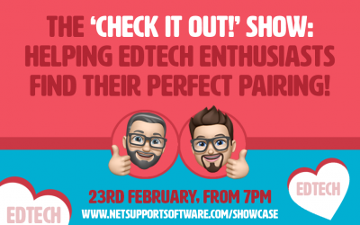 The 'Check it out!' show: helping edtech enthusiasts find their perfect pairing!