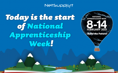 Today is the start of National Apprenticeship Week!