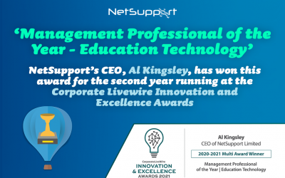 Al Kingsley wins another a Corporate Livewire award!