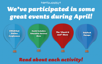 We've participated in some great events in April!