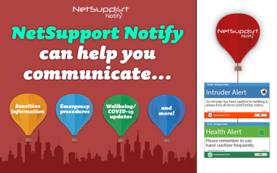 NetSupport Notify can help you communicate…